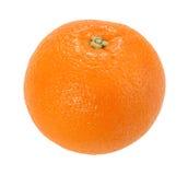 Un arancio pieno soltanto Fotografia Stock Libera da Diritti