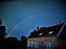 Un arc-en-ciel Photographie stock libre de droits