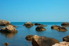 Un archipiélago costero Fotos de archivo libres de regalías