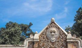 Un'architettura antica in Bali Immagine Stock