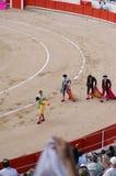 Un'arena di bull-fight Fotografia Stock Libera da Diritti