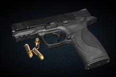 Un arma de 45 milímetros Imagen de archivo