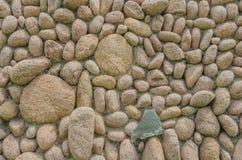 Un arreglo ordenado de piedras fotos de archivo