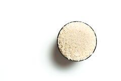 Un arroz en un cuenco Foto de archivo libre de regalías