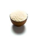 Un arroz en un cuenco Imagen de archivo