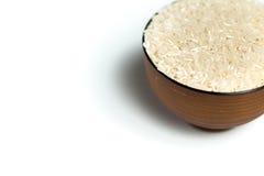 Un arroz en un cuenco Foto de archivo