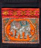 Un art traditionnel thaï d'éléphant handcraft le type Photos stock