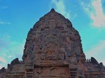 Un'arte di Anciet del tempio Fotografia Stock