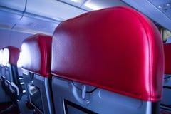 Un asiento en el avión Imagen de archivo