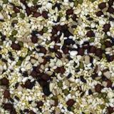 Un assortiment des haricots et des textures Photos stock