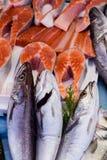 Un assortimento pesce Fotografia Stock