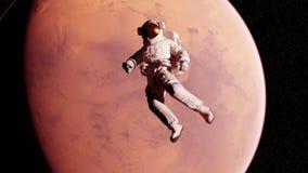 Un astronauta delante de estropea