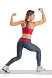 Un atleta femminile Fotografia Stock Libera da Diritti