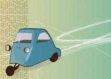 Un'automobile dei tre carrai Immagini Stock