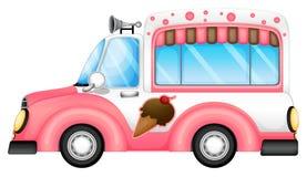 Un'automobile del gelato Fotografia Stock