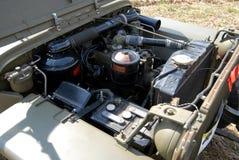 Un autoveicolo della seconda guerra mondiale immagine stock