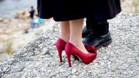 Un autre angle du pré-mariage Photo libre de droits