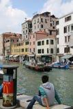 Un autre jour de détente à Venise images libres de droits