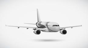 Un avión internacional Imágenes de archivo libres de regalías