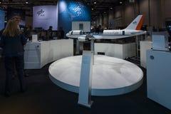 Un avión modelo funcional Airbus A320 ATRA Imagenes de archivo