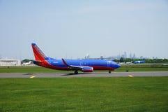 Un avion de Boeing 737 de Southwest Airlines Image libre de droits