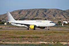 Un avion de passagers Photo libre de droits