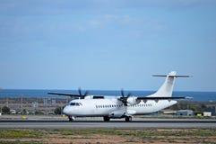 Un avion de propulseur Photos stock