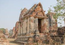 Un ayutthaya poco caltle Imagenes de archivo