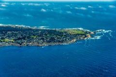 Un azionamento da 17 miglia in foto aerea di California fotografia stock libera da diritti