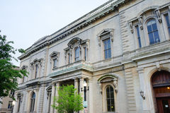 Un bâtiment à Baltimore du centre photo stock