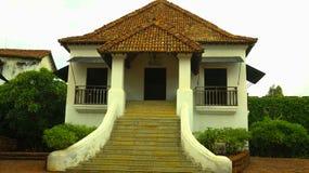 Un bâtiment antique dans le fort de Goa Image stock