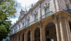 Un bâtiment colonial espagnol à La Havane, Cuba photographie stock libre de droits