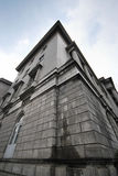 Un bâtiment dans la symétrie images stock