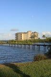 Un bâtiment de point de repère à Melbourne, la Floride Images libres de droits