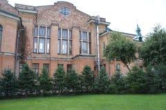 Un bâtiment historique au coeur d'Irkoutsk Photographie stock libre de droits