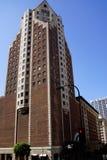 Un bâtiment plus ancien de LA en centre ville photo libre de droits