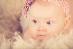 Un bébé Photographie stock