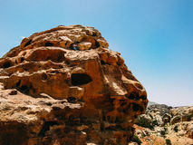 Un bédouin dans la caverne photos libres de droits