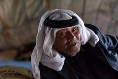 Un bédouin de Jordanie photographie stock libre de droits
