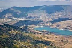 Un bacino idrico di Zahara Immagini Stock Libere da Diritti