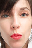 Un bacio Immagine Stock