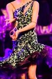 Un bailarín en el partido Imagenes de archivo