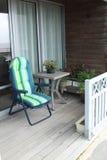 Un balcón bretón pintoresco Fotografía de archivo libre de regalías