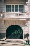 Un balcón de lujo foto de archivo libre de regalías