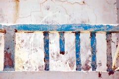 Un balcone corrotto Fotografie Stock