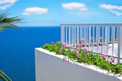 Un balcone in Spagna Fotografie Stock