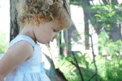 Un bambino Fotografie Stock