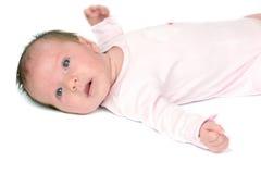 Un bambino di mese Fotografia Stock