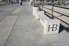 Un banc vide de HB Images stock
