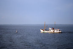 Un barco Imagenes de archivo